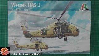 Italeri 1/48th Wessex HAS 1 review