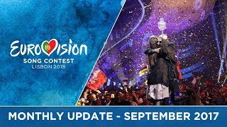 Eurovision Song Contest - Monthly Update - September 2017