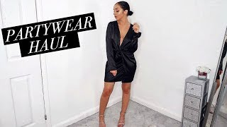 AFFORDABLE PARTYWEAR HAUL // Christmas Party Outfit Ideas!