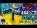 8 GB RAM LAPTOP / FREEFIRE GAMEPLAY / GARENA FREEFIRE