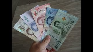 Quick & Easy way to learn Thai Baht to USD.