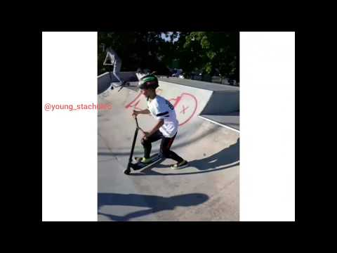 🔥😁First edit on my youtube chanel. Scooter .Tarchomin Skate Park