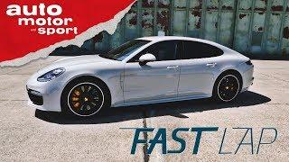 Porsche Panamera Turbo: Verdammt schwer, aber verdammt schnell  - Fast Lap | auto motor und sport