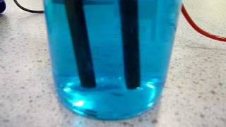Sulfuric acid from copper sulfate
