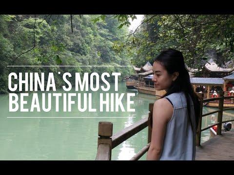 Hiking Tianmen Mountain In Zhangjiajie, China