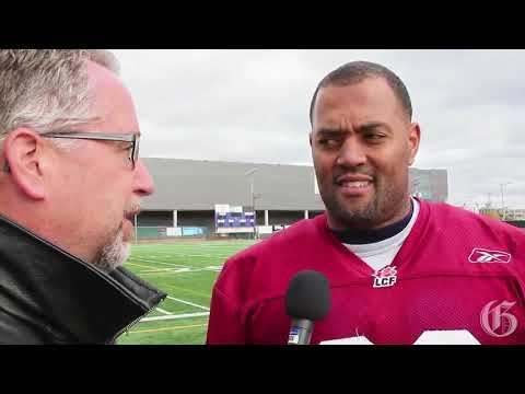 Video: Alouettes' Chip Cox up for defensive player of the year