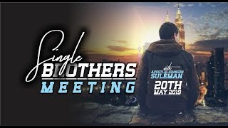 Singles Brothers Meeting Live with Apostle Johnson Suleman
