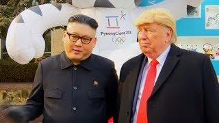 Download Video Nobody wants war, says Kim Jong-un impersonator MP3 3GP MP4