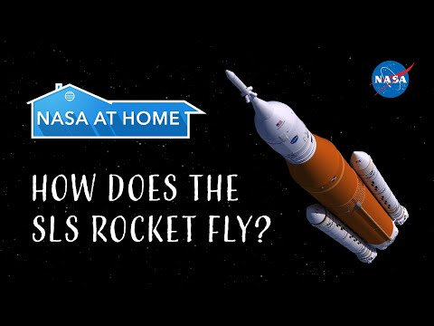 #NASAatHome: How Does the SLS Rocket Fly