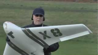 * GIANT RC * Hobby King X8 flying wing HK FPV platform