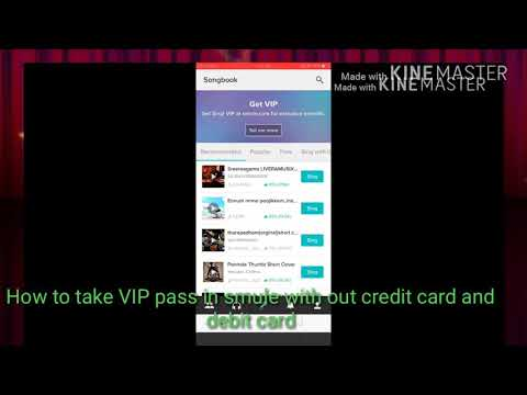 How To Take Smule VIP Pass Without Credit Card Mp3