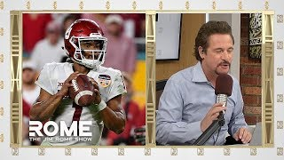 Kyler Murray MLB or NFL? | The Jim Rome Show