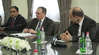 Meeting of acting Foreign Minister of  Armenia and the EU Managing Director for  Europe and Central Asia
