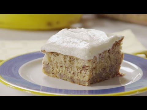 How to Make Banana Cake | Cake Recipes | AllRecipes