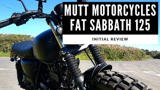 2018 Mutt Motorcycles Fat Sabbath 125 Review - Is This The Coolest 125cc Motorbike You Can Buy?