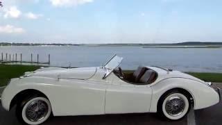 1953 JAGUAR XK 120 CONVERTIBLE REPLICA