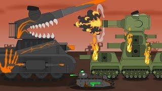 Сборник всех серий с Левиафаном - Мультики про танки