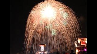ビデオカメラが揺れる爆風!!世界一四尺片貝花火大会2015