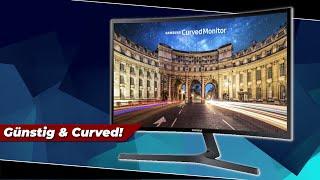 Der 110€ Curved Monitor von Samsung! Was kann er? | Samsung C24F396FHU | Review