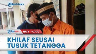 Anak Ribut dengan Tetangga, Pria di Bandar Lampung Tega Tusuk Korban hingga Tewas, Ngaku Khilaf