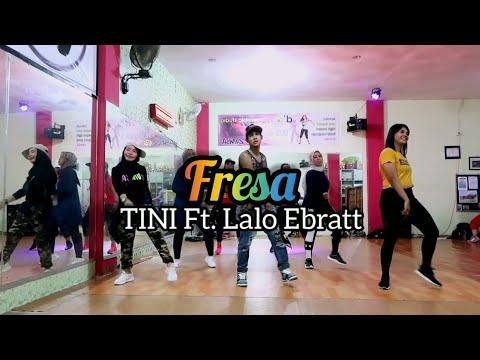 TINI Ft. Lalo Ebratt - Fresa | ZUMBA | FITNESS | At D'One Studio Balikpapan