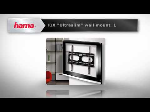 "Hama ""Ultraslim"" FIX TV Wall Bracket"