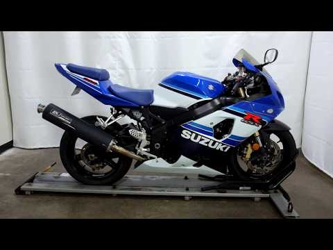 2005 Suzuki GSX-R600 20th Anniversary Edition in Eden Prairie, Minnesota - Video 1