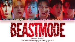 Musik-Video-Miniaturansicht zu Beastmode Songtext von Monsta X