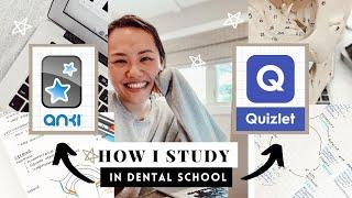 How I STUDY in Dental School! ANKI vs. Quizlet? Do you need an iPad for Dental School? DentalRachel