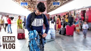 FIRST VLOG IN INDIAN TRAIN   Journey in Indian Railways   Mr IY Vlogs