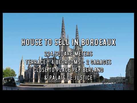 Maison T6 triplex au coeur de Bordeaux