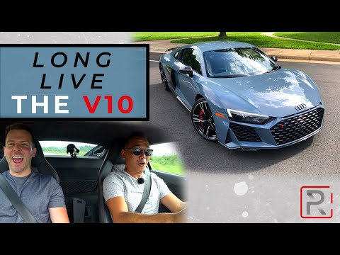 The 2020 Audi R8 is a Mid-Engine Supercar With a V10 Lamborghini Heart
