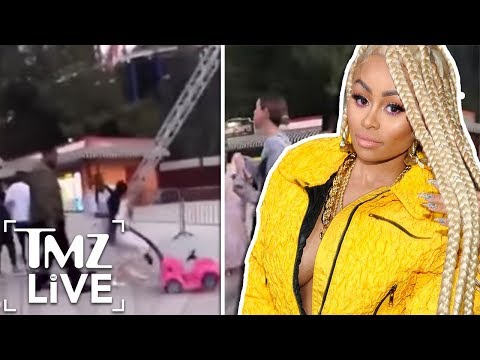 Blac Chyna Crazy Brawl At Six Flags! | TMZ Live