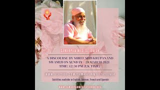 Full Moon discourse by Shree Shivkrupanand Swamiji - 28 March 2021, 12:30 pm (UK time)