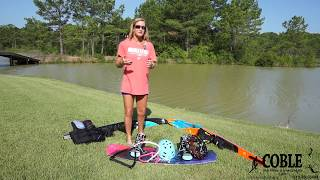 Learn to Water Ski and Wakeboard with April Coble Eller- Instructional video