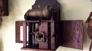 1800's 13 Bell Carillon Clock up and Running