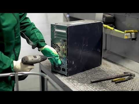 Переработка отходов электронного оборудования