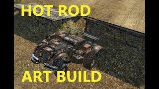 Crossout Lets Build! Hot rod Art build!