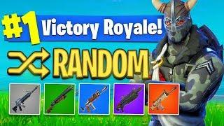 The *RANDOM SKIN* Challenge In Fortnite Battle Royale! (HARD?)