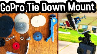 How to make a GoPro Tie Down Mount for your plane