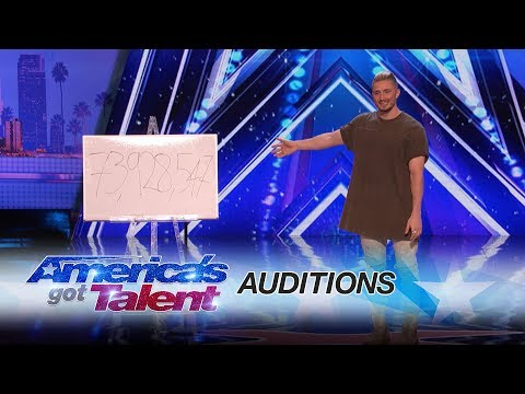 Tom London: Magician Mystifies Crowd With Tech Magic - America's Got Talent 2017