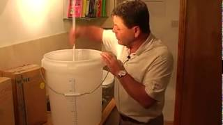 Making Home Brew Wine from a Kit - Getting Started