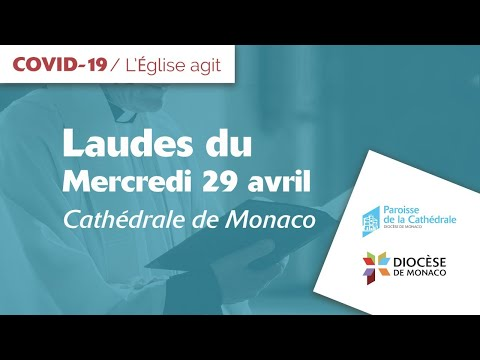 Laudes du 29 avril en direct de la cathédrale