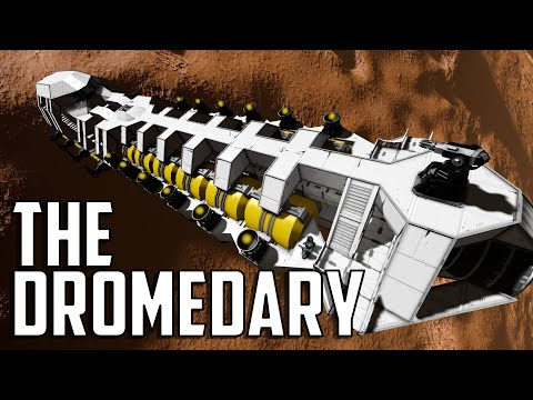 Space Engineers - Ep 50 'The Dromedary Freighter'