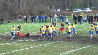preview picture of video 'PART 2 Belvidere Wildcats 2012 WCMFL Championship game PART 2'