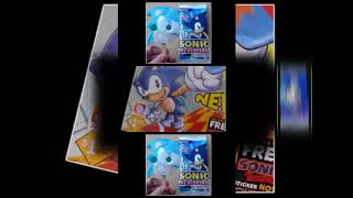 Sonic The Hedgehog Ice Cream Bar With Gumball Eyes Scan