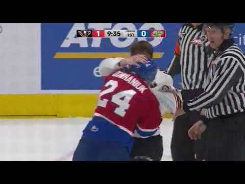 Logan Dowhaniuk vs. Tye Carriere