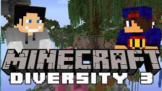 😲 ELYTRA... 😡 Minecraft DIVERSITY 3 #8 W Undecided
