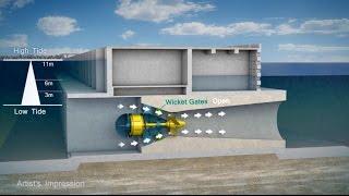 Великобритания запускает масштабный проект приливной электростанции в лагуне