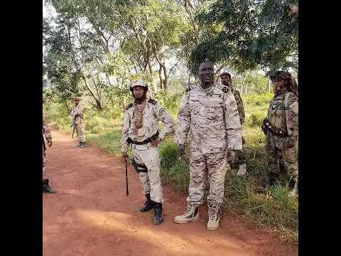 Sanda boro lesdi Central Africa mans